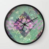 beth hoeckel Wall Clocks featuring BETH #2 by littlehomesteadco