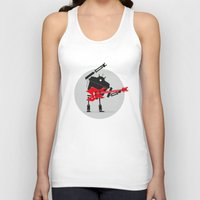 heavy metal Tank Tops featuring Heavy Metal by DWatson