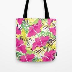 Tropic flowers Tote Bag