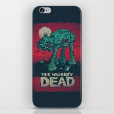 Walker's Dead V2 iPhone & iPod Skin
