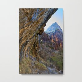 Majestic Zion Metal Print