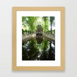 Gardens of Luxemborg Framed Art Print