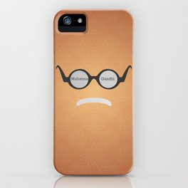 Mahatma Gandhi (Famous mustaches and beards) iPhone Case