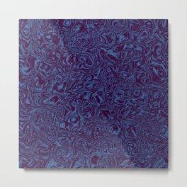 The Deep Blue Metal Print