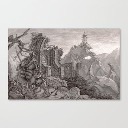 Tower 6 Canvas Print