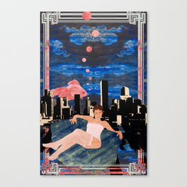 Denber Lady ver.2 Canvas Print