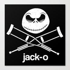 jack-o Canvas Print