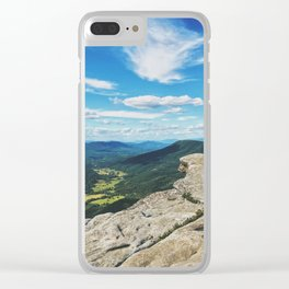 McAfee Knob Lookout •Appalachian Trail Clear iPhone Case