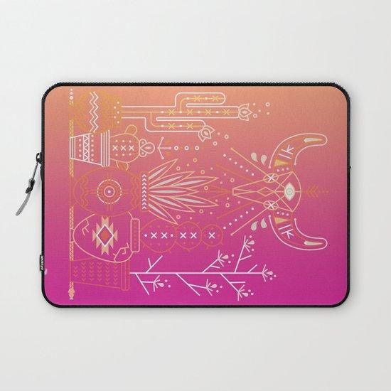 Santa Fe Garden – Pink Sunset Laptop Sleeve