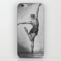 ballerina iPhone & iPod Skins featuring Ballerina by Megan