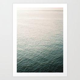 "Coastal beach photography ""Free as the ocean"" | Modern wall Art Sea Ibiza Art Print"
