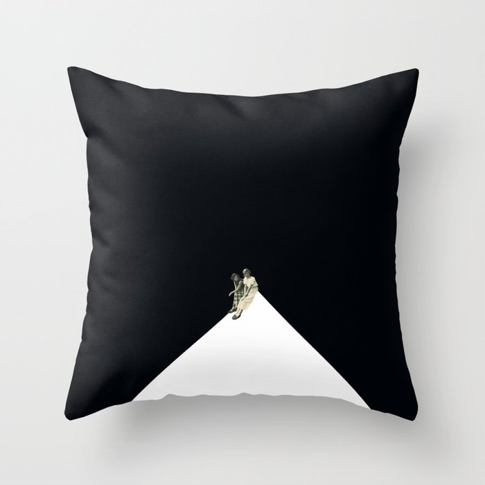 Looking From A Hilltop Throw Pillow