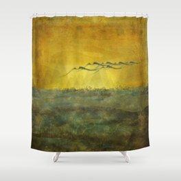 Flux... Shower Curtain