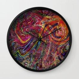 Light Trio Mix. Wall Clock