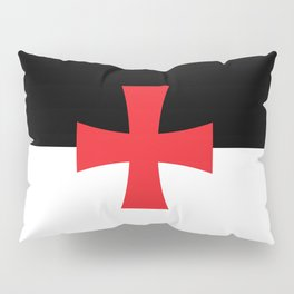 Knights Templar Flag - High Quality Pillow Sham