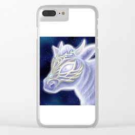 A Noble Wintacow Clear iPhone Case