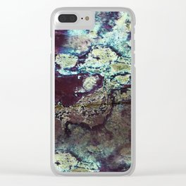 Icelandic geyser 2 Clear iPhone Case