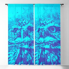 owl portrait 5 wsdb Blackout Curtain