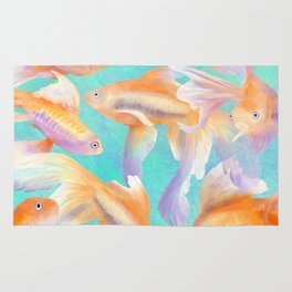 Lots of Goldfish Rug