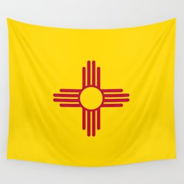 Flag of New Mexico - Authentic High Quality Image Wall Tapestry