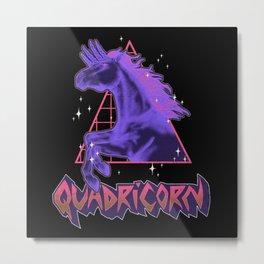 Quadricorn Metal Print