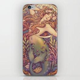 Andersen Little Mermaid Nouveau iPhone Skin