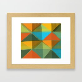 Harlequin 1 Framed Art Print