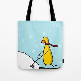Snow Shoveling | Veronica Nagorny Tote Bag