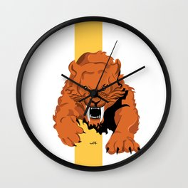 Saber Tooth Wall Clock