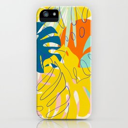 Vibrant Monstera for Matisse iPhone Case