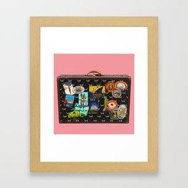 BON VOYAGE Framed Art Print