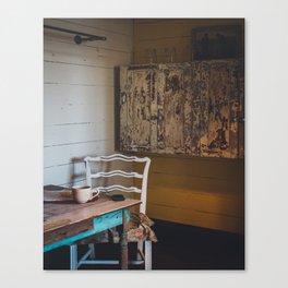 Rustic Living Canvas Print