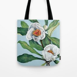 Franklin tree flowers Tote Bag
