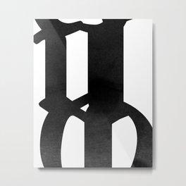 o2 Metal Print