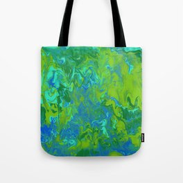 Paint Pouring 36 Tote Bag