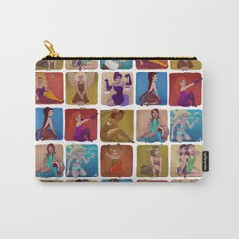 Zodiac pin-up Carry-All Pouch