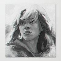 hermione Canvas Prints featuring Hermione  Granger by Ilya Brovkin