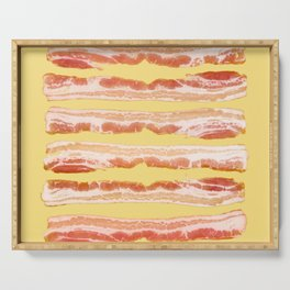 Bacon, Raw Serving Tray