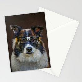 Nerd Dog Stationery Cards