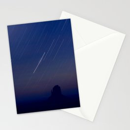 Monument Valley Star Trails Stationery Cards