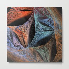 fractal design 121217_b Metal Print