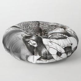 Magic Mushroom Floor Pillow
