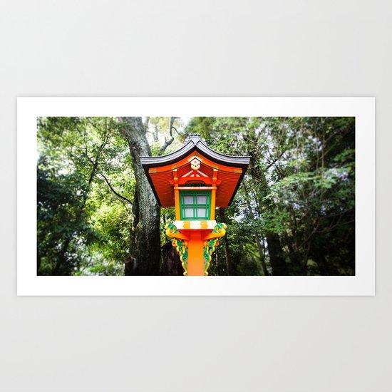 Inari Shrine Art Print