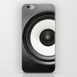 Loudspeaker iPhone Skin