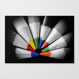 Colour Your Walls Canvas Print