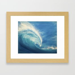 Kanagawa revisited Framed Art Print