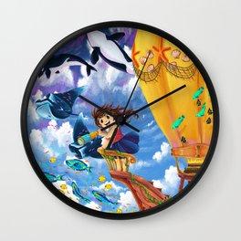 The Sea Wanderer Wall Clock