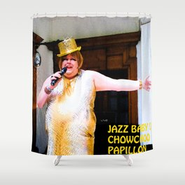 Jazz Baby Shower Curtain