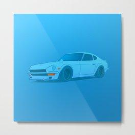 Nissan 240Z Fairlady Metal Print