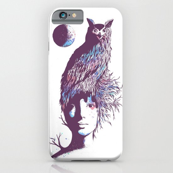 Night Watcher iPhone & iPod Case